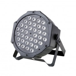 Φωτορυθμικό 36W led flat par stage light DMX512